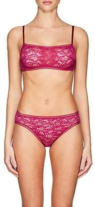 Eres Women's Plume Rouge Gorge Lace Bandeau Bra