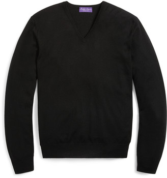 Ralph Lauren Cashmere V-Neck Sweater