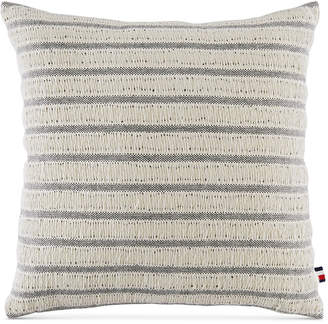 "Tommy Hilfiger Fisherman's Stripe 18"" Square Decorative Pillow Bedding"