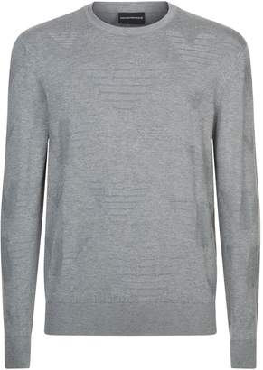 Emporio Armani Eagle Logo Sweater