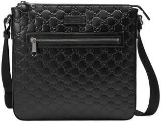 0c495cc1254 Gucci Men Leather Messenger - ShopStyle