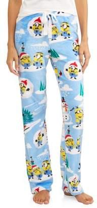 Minions Women's and Women's Plus Superminky Fleece Pajama Pant