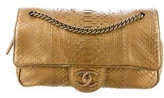 Chanel Python Shiva Flap Bag