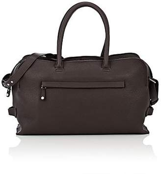 3e5249fde0b GREY NEW YORK GREY NEW ENGLAND Men s Leather Duffel Bag - Brown