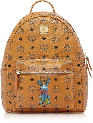MCM Cognac Rabbit Small Backpack
