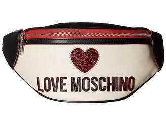 Love Moschino Heart Design Fanny Pack