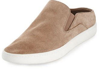Vince Verrell Suede Open-Back Skate Sneaker $195 thestylecure.com
