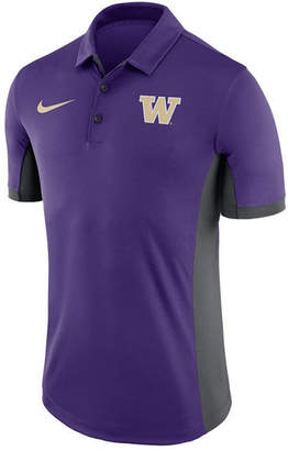 Nike Men's Washington Huskies Evergreen Polo