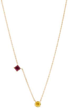 Ileana Makri Round & Square Necklace