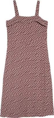 Treasure & Bond Print Sleeveless Midi Dress