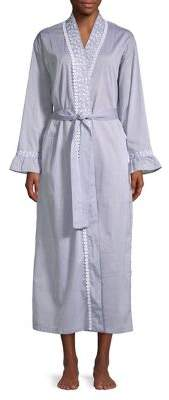 Eileen West Chambray Long Robe