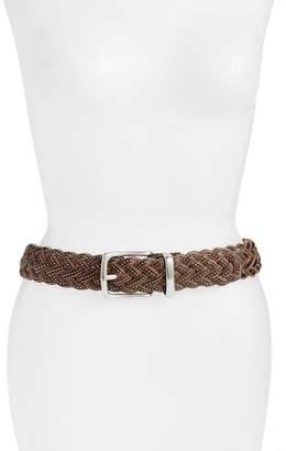 Frye Braided Leather Belt