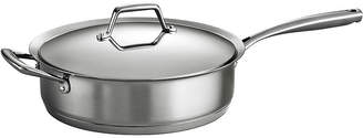 Tramontina Gourmet Prima 5-qt. Tri-Ply Stainless Steel Covered Saut Pan