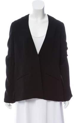 Elizabeth and James Woven Long Sleeve Jacket
