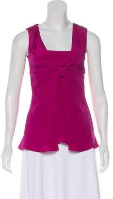 Yoana Baraschi Sleeveless Silk Top w/ Tags