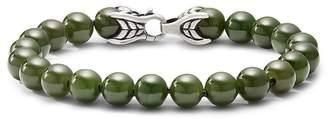 David Yurman Spiritual Beads Bracelet with Nephrite Jade