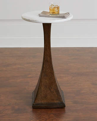 Hooker Furniture Gwynn Marble-Top Side Table