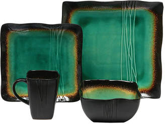 JCPenney Baum Galaxy Jade 16-pc. Dinnerware Set