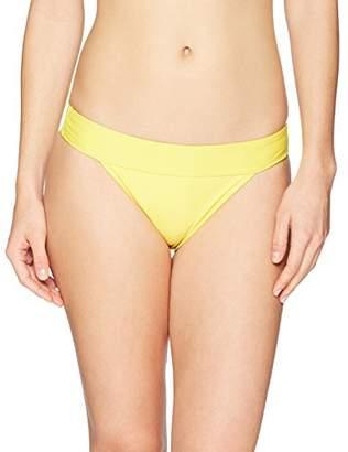 Mae Women's Swimwear Banded Cheeky Bikini Bottom