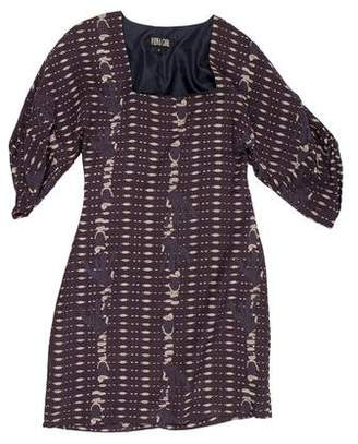 Vena Cava Printed Casual Dress