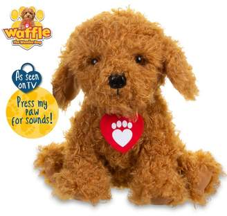 Girls Waffle The Wonder Dog Soft Toy With Sounds