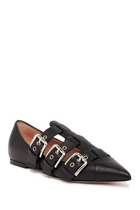RED Valentino Triple Buckle Flat