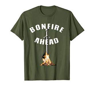 Bonfire Ahead Shirt for gamers with souls in dark places