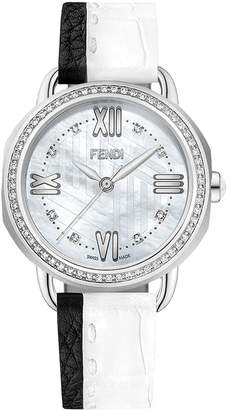 Fendi Selleria watch with 0.55ct and 0.6ct diamonds