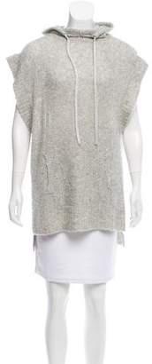 Rebecca Taylor Sleeveless Hooded Sweater