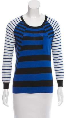 Thakoon Stripe Wool Top