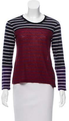 Sonia Rykiel Sonia by Wool-Blend Long Sleeve Top