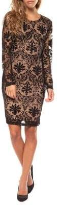 Dex Fitted Lace Shift Dress