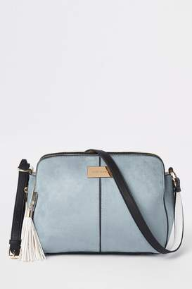 Next Womens River Island Blue Med Triple Compartment Bag