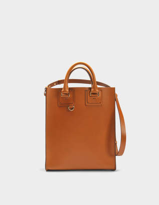 Mini Albion Bag in Tan Cowhide Leather Sophie Hulme uXFgn