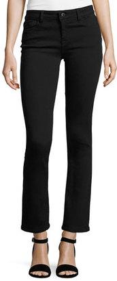 DL1961 Premium Denim Mara Instasculpt Cropped Straight Jeans, Nightwatch $178 thestylecure.com