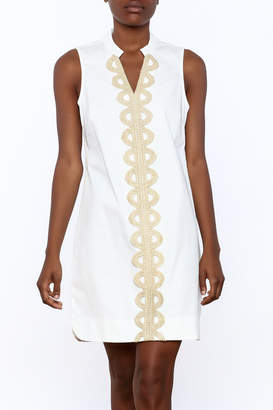Mud Pie Mia Embroidered Dress $62 thestylecure.com