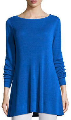 Eileen Fisher Fine Organic Linen Crepe Knit