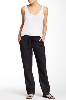 Allen Allen Linen Pant (Petite) $88 thestylecure.com