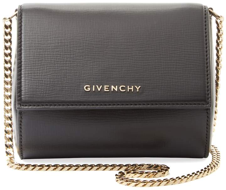 Givenchy Women's Pandora Box Mini Leather Chain Shoulder Bag