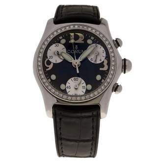 Corum Bubble Black Steel Watches