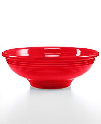 Fiesta Scarlet Pedestal Bowl