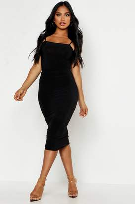 boohoo Double Up Midi Skirt