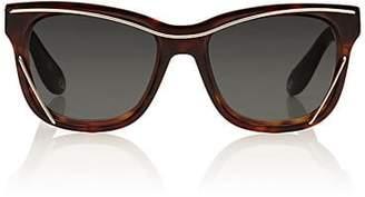 Givenchy Women's 7028/S Sunglasses - Dark Havanah, Gray