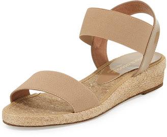 Andre Assous Dera Demi-Wedge Espadrille Sandal, Taupe $119 thestylecure.com