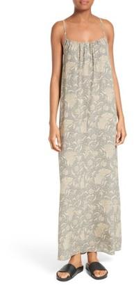 Women's Vince Vintage Floral Silk Slipdress $475 thestylecure.com