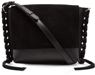 Isabel Marant Asli suede and leather cross-body bag
