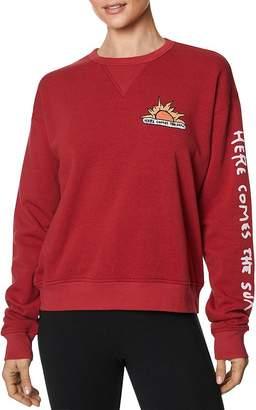 Betsey Johnson Sun Vintage Sweatshirt