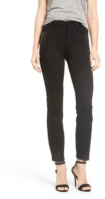 Women's Nydj Clarissa Scattered Stone Stretch Slim Ankle Jeans $144 thestylecure.com