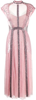 Temperley London Electra bead-embellished dress