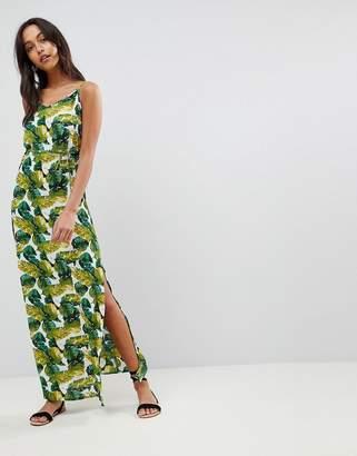 AX Paris Palm Print Column Dress